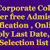 Jnanabhumi AP Corporate Colleges Inter free Admission Notification 2018 , Online apply Last Date, Selection list @ jnanabhumi.ap.gov.in
