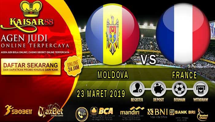 PREDIKSI BOLA TERPERCAYA MOLDOVA VS FRANCE 23 MARET 2019