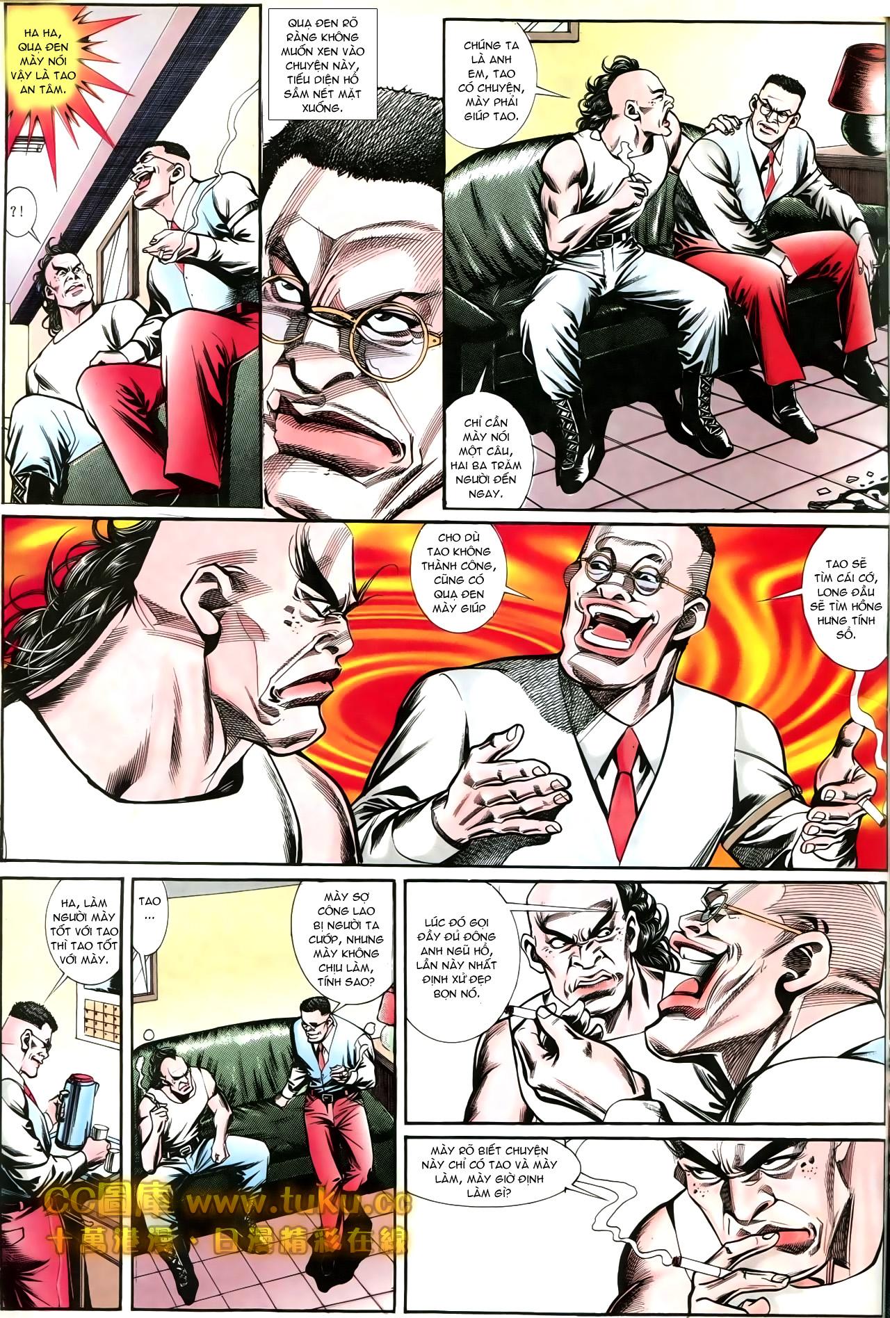 Người Trong Giang Hồ chapter 197: quạ đen báo thù trang 23
