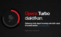 Trik Mempercepat Loading Internet Opera Mini HP
