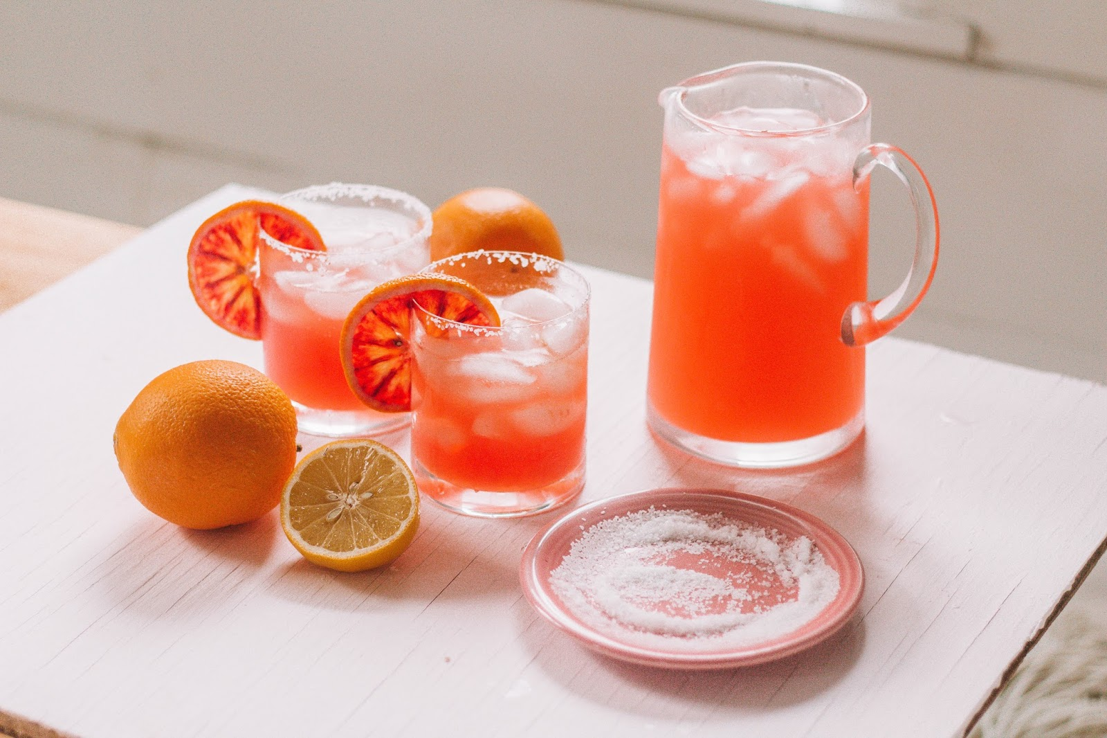 3 Ingredient Blood Orange Paloma