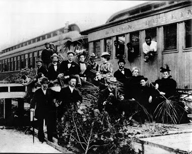 First Train of the MDS into Dublin, 1891.