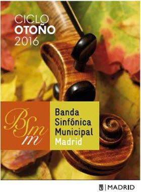Concierto de la Banda Sinfónica Municipal en el Teatro Monumental. Miércoles 26 de octubre
