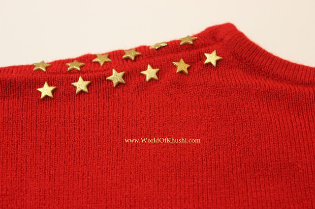 Make Your Own Studded Sweater | DIY