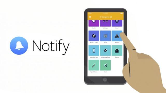 تحميل تطبيق Notifly المميز للرد والتحكم بالإشعارات من اى مكان داخل الهاتف