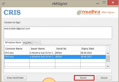04 IREPS E-Tender Goods & Services Login