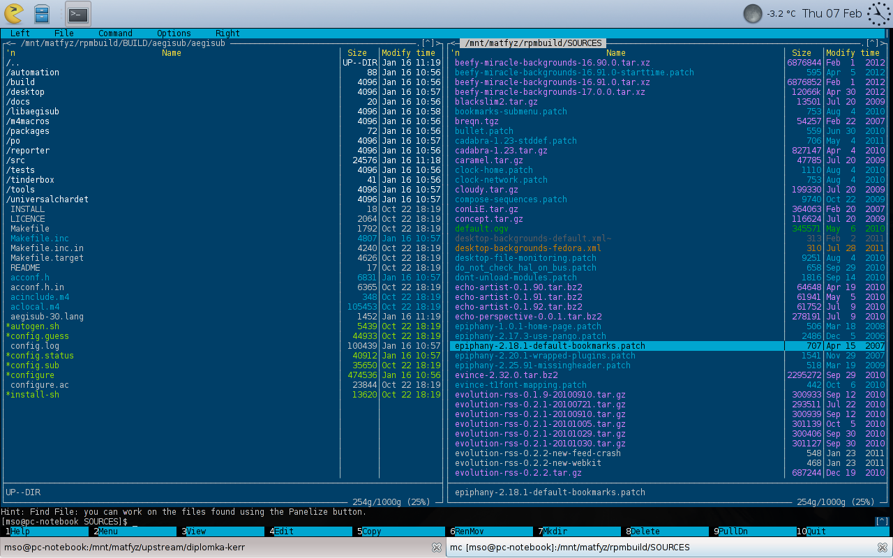Martin's Chronicles: (XFCE) Terminal and XChat Colour Scheme