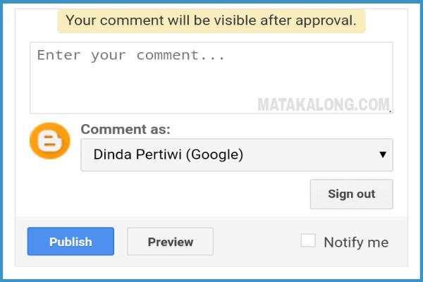 Cara Mengisi Komentar Di Website Blog Orang Lain