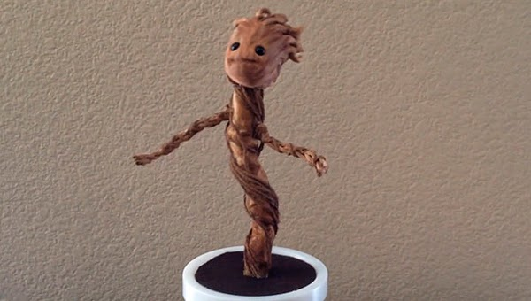 Dancing Baby Groot fan made