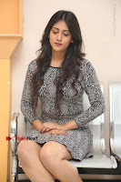 Actress Chandini Chowdary Pos in Short Dress at Howrah Bridge Movie Press Meet  0183.JPG