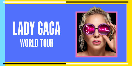 Lady Gaga annonce les dates du Joanne World Tour