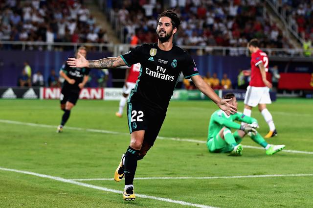 Real Madrid ganó 2-1 al Manchester United