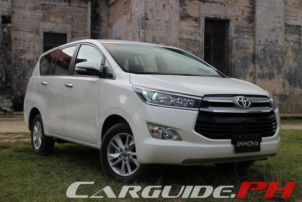 First Drive 2016 Toyota Innova 2 8 G Philippine Car News Car Reviews Automotive Features