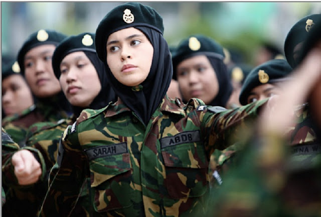 foto tni cantik indonesia terbaru berhijab