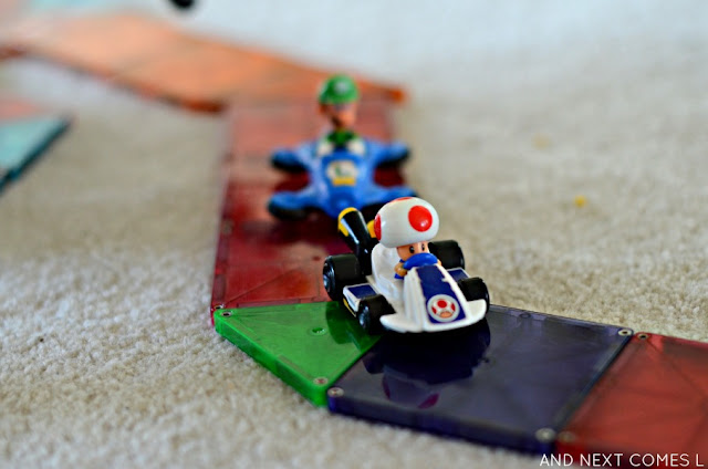 Small world play for kids: Mario Kart Rainbow Road from And Next Comes L
