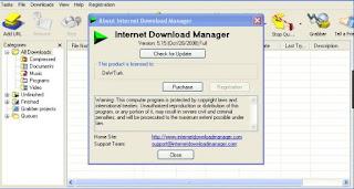 تحميل برنامج انترنت داونلود مانجر مفعل مدى الحياة عربي