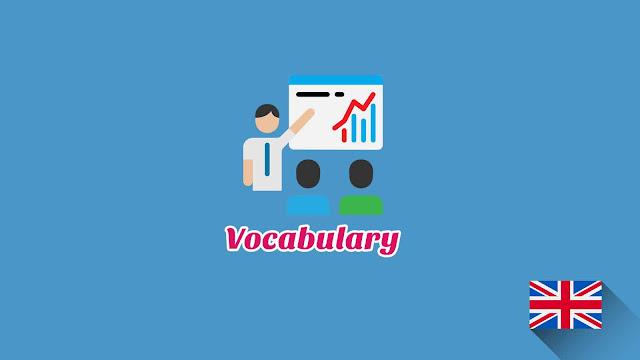 Kosakata Bahasa Inggris Bisnis Disertai Gambar, Audio Dan Pronunciation