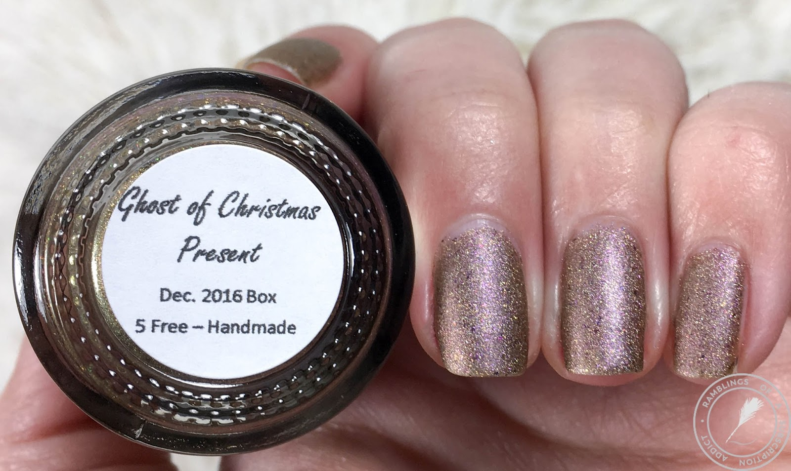 Supernatural Lacquer - December 2016 Bi-Monthly Box | Ramblings of a ...