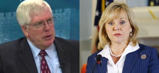 Mat Staver and Mary Fallin