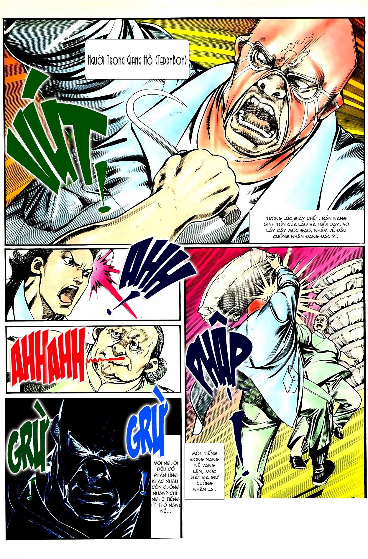 Người Trong Giang Hồ chapter 85: diệt môn trang 7