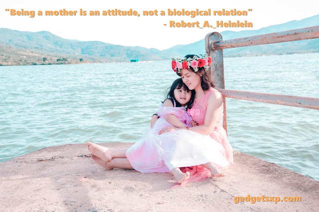 Being a mother is an attitude, not a biological relation