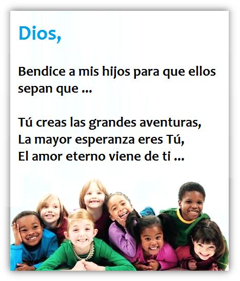 Oración por mis Hijos - Para que Dios los Guíe, Bendiga y Proteja