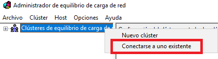 Windows: Balanceo de carga (NLB)