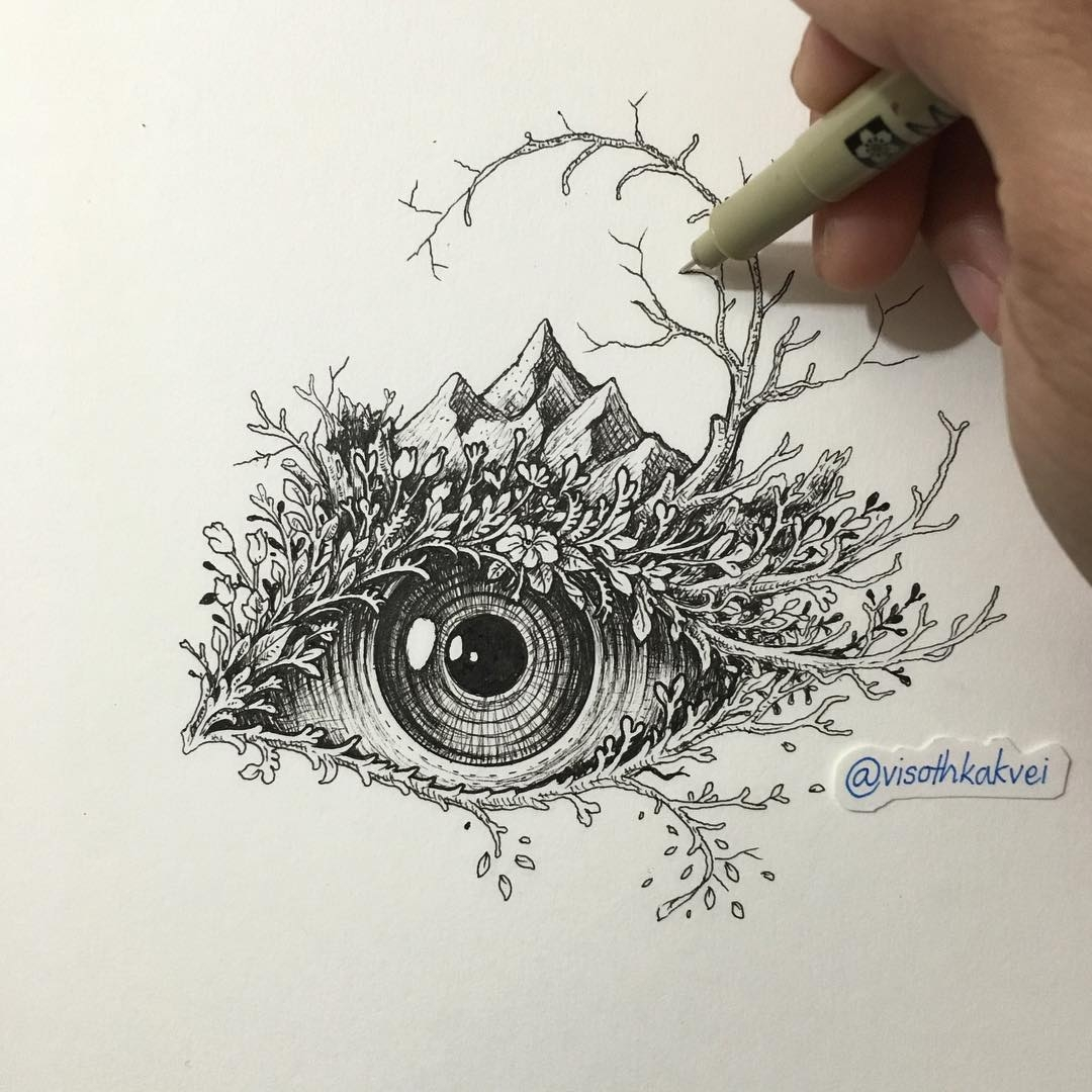 09-Eye-Visoth-Kakvei-Intricate-Doodles-that-include-Optical-Illusions-www-designstack-co