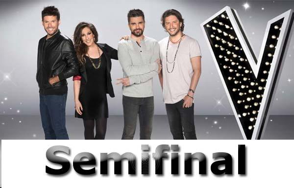 semifinal de La Voz 5