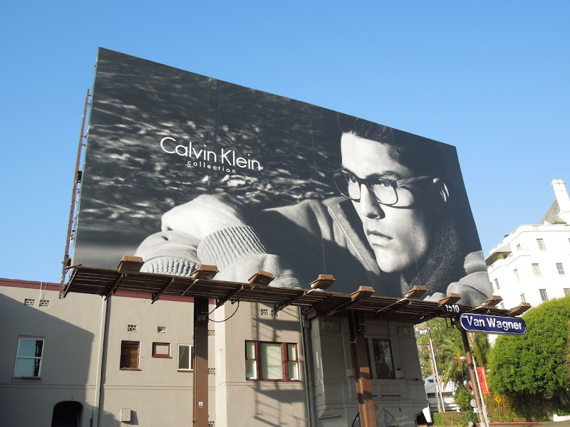 Calvin Klein Collection eyewear 2012 billboard