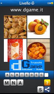 Trova la Parola - Foto Quiz con 4 Immagini e 1 Parola pacchetto 1 soluzione livello 6