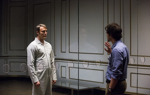 Madds Mikkelsen y Hugh Dancy en Hannibal