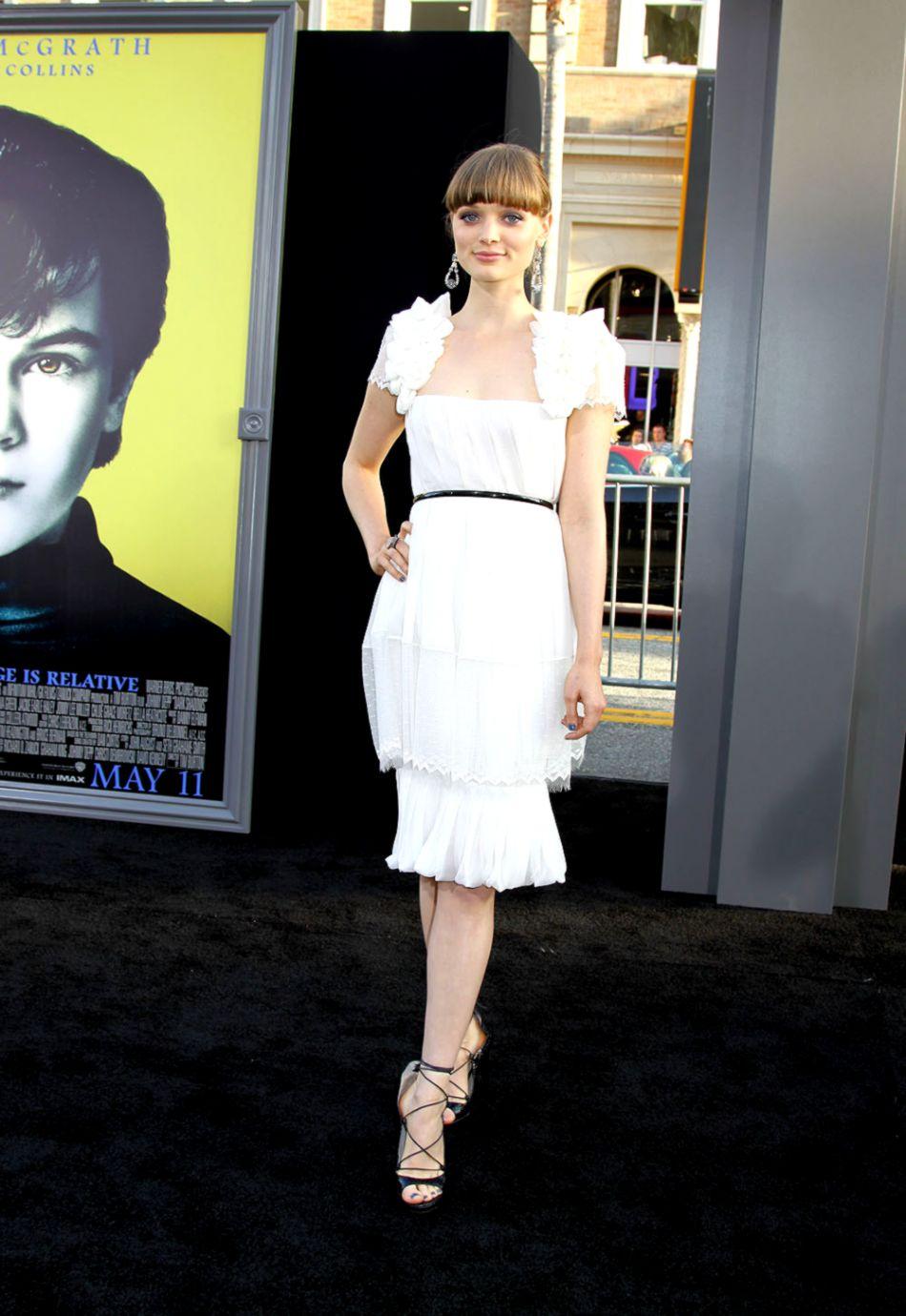 Bella Heathcote at the World Premiere of DARK SHADOWS ©2012 Sue