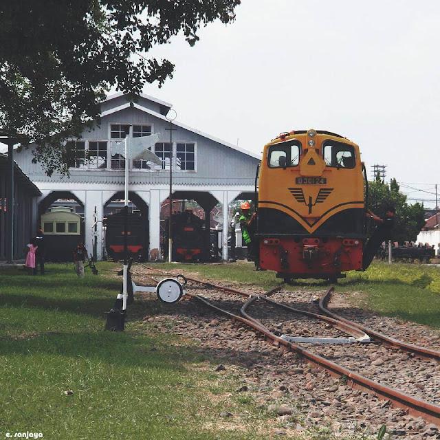 foto museum kereta api ambarawa