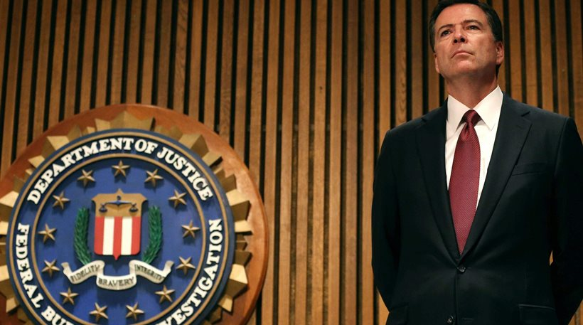 ΗΠΑ: Ο Τραμπ απέλυσε τον διευθυντή του FBI ως ανεπαρκή