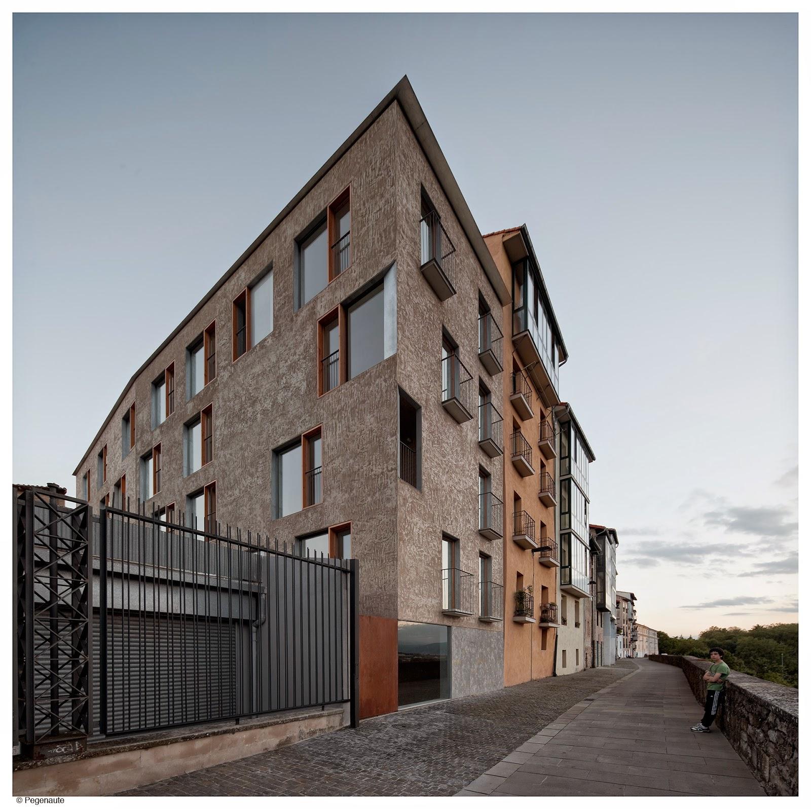 Arquitectura Zona Cero Edificio De Viviendas Para