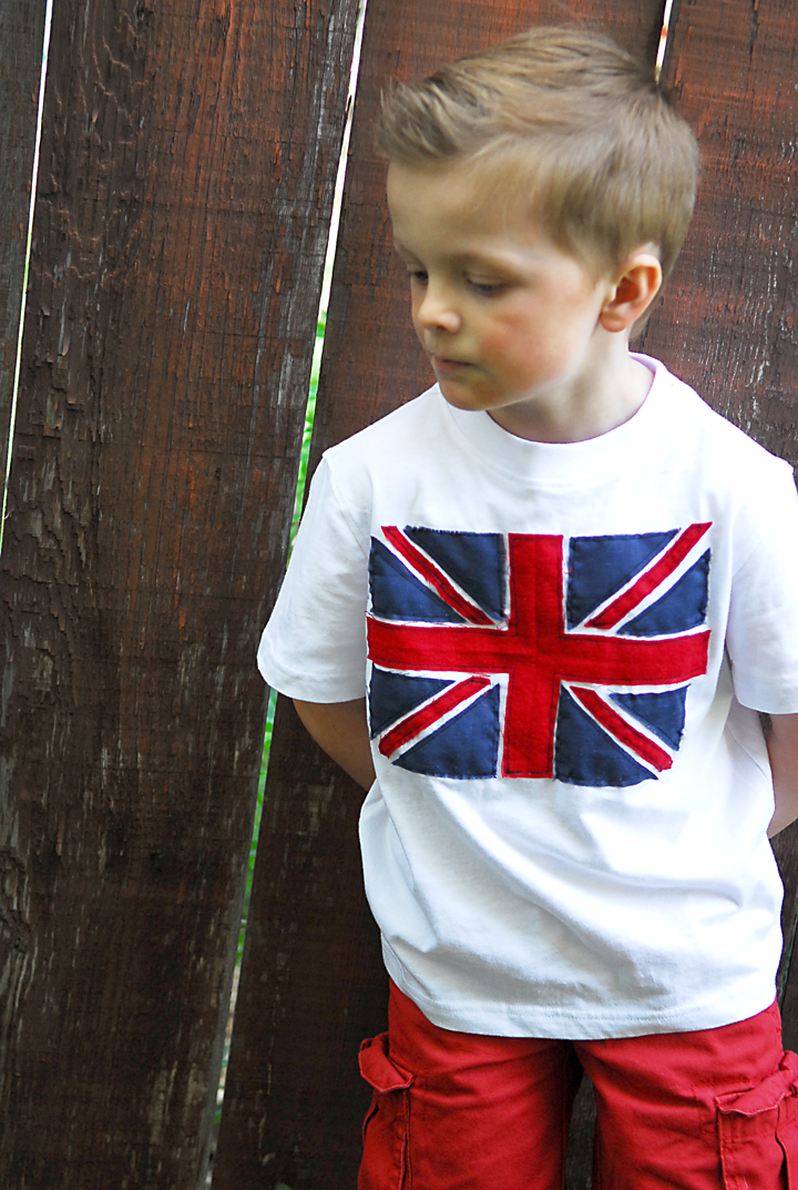 British Invasion Tee Boys Summer Collection Shwin And