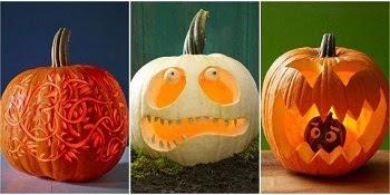 simple pumpkin carving ideas