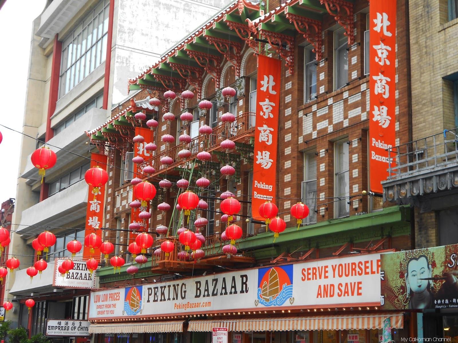 Visiter le chinatown de San-Francisco