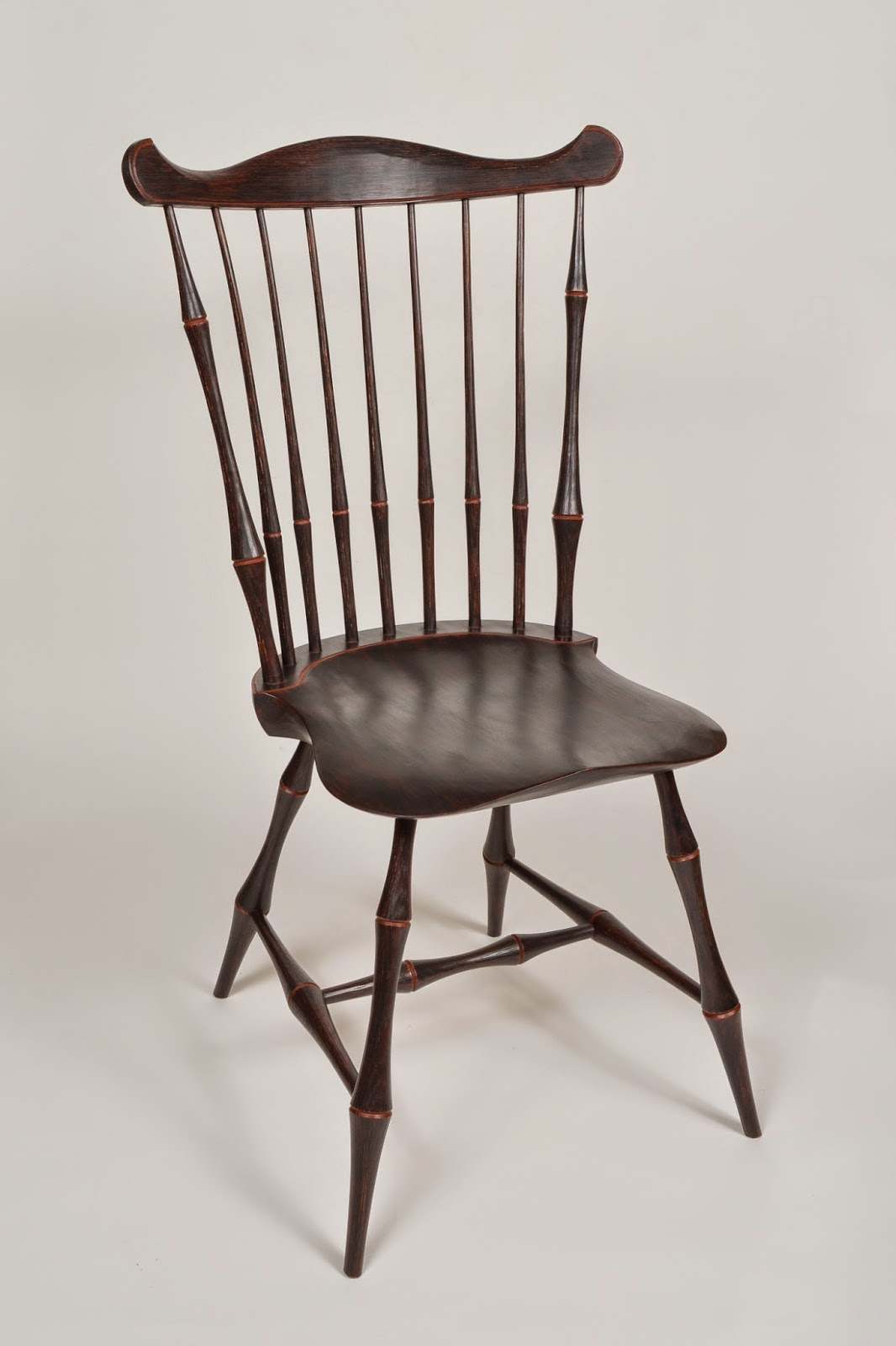 Caleb James Chairmaker Planemaker Fan Back Windsor Chair
