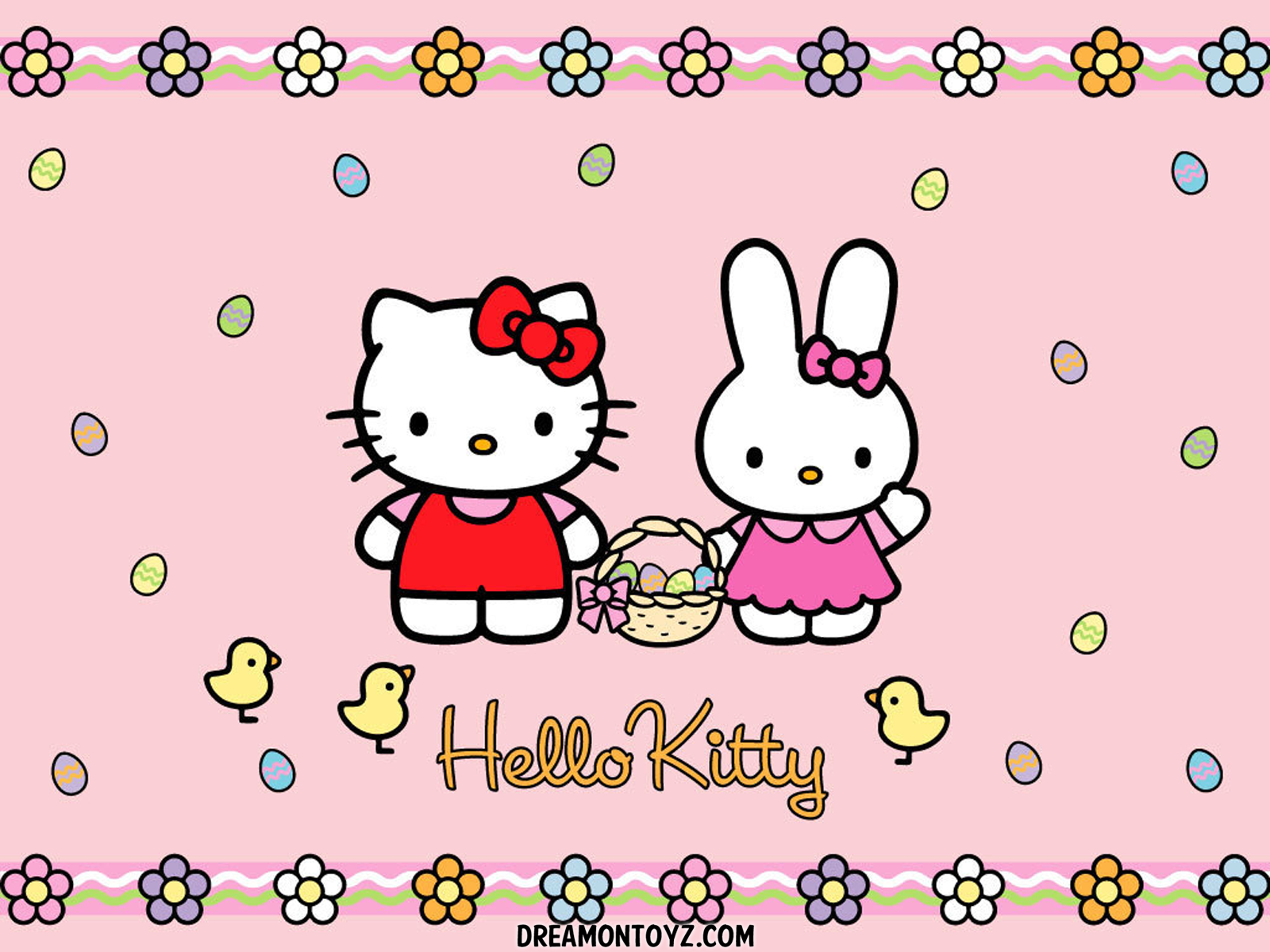 displaying 18 gt images for hello kitty easter basket