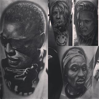 gambar tato tangan figure artis