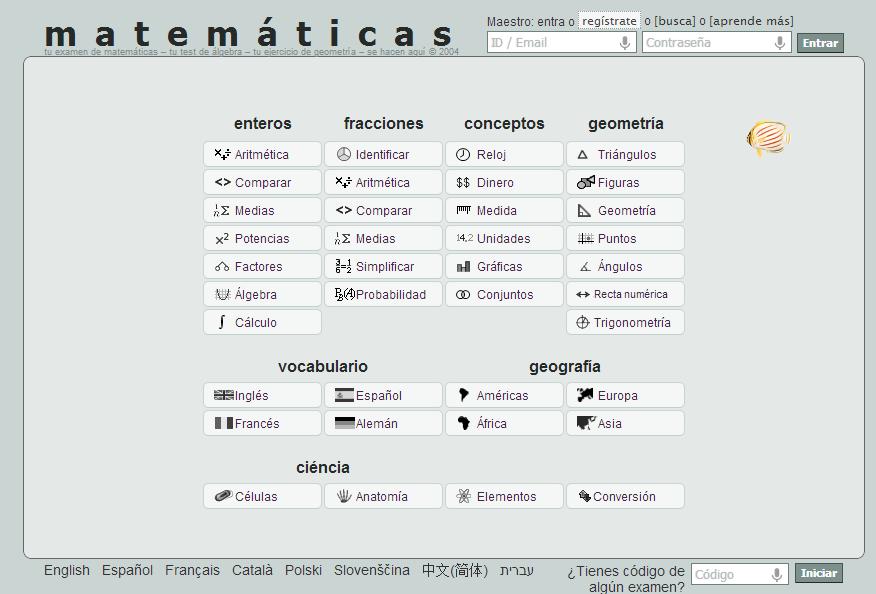 Generador de ejercicios y exámenes online ~ Docente 2punto0