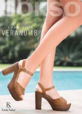 Catalogo zapatos sosko verano 2018