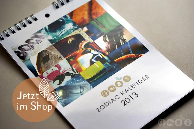 Kalender 2013, Fotokalender Sternkreiszeichen