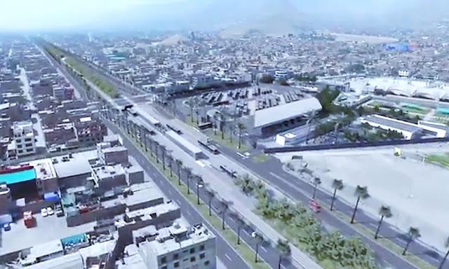 Vídeo: Ampliación tramo norte del Metropolitano de Naranjal a Carabayllo