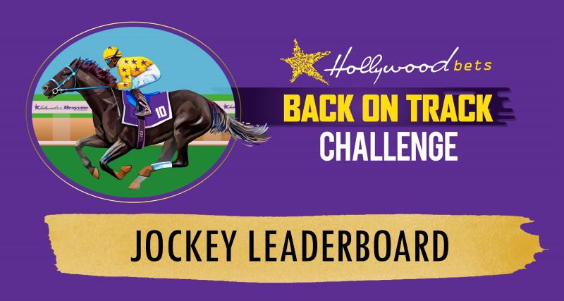Jockey Leaderboard - Back On Track Challenge - Logo