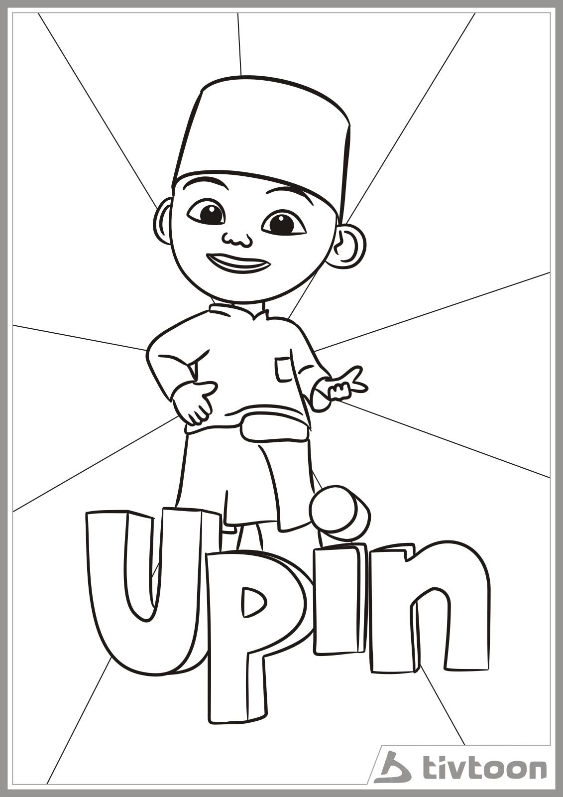 Download Kumpulan Gambar Sketsa Upin Dan Ipin