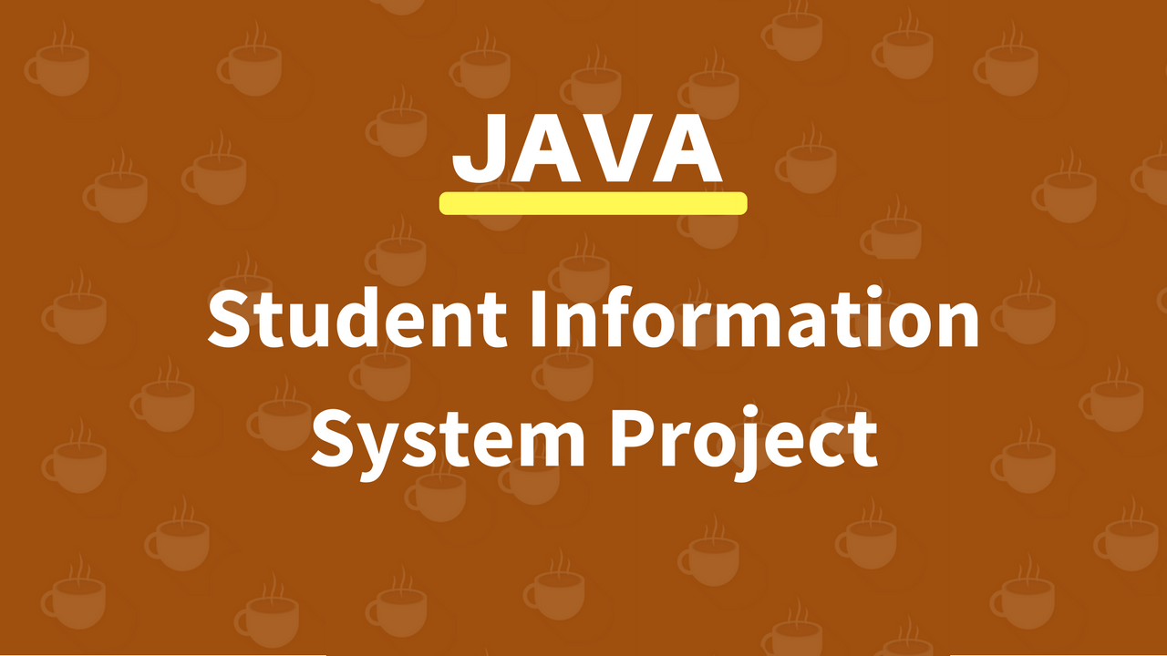 Java Student Information System Source Code - C#, JAVA,PHP