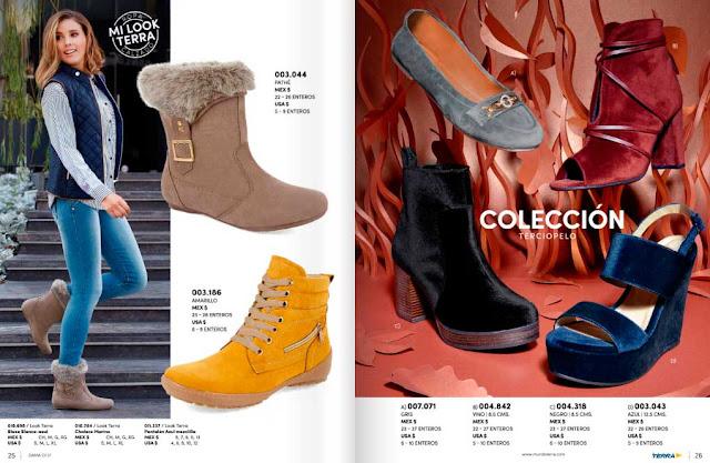 Catalogo de damas calzado MundoTerra Primavera verano 2019